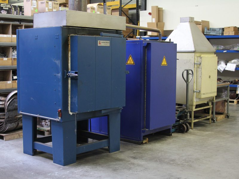 roetfilter reiniging oven en machines